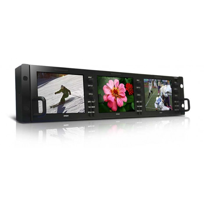 Orion OIC-5003 Broadcast Rack Mount Monitor (5-inch x 3)