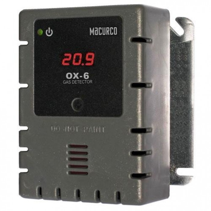 Macurco OX-6 Oxygen (O2) Fixed Gas Detector
