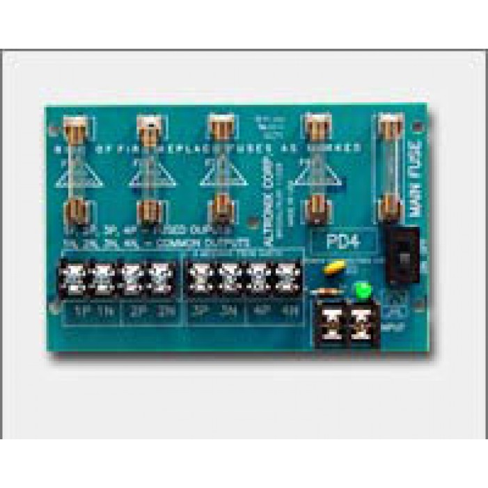 Altronix PD4 4 Output Power Distribution Module