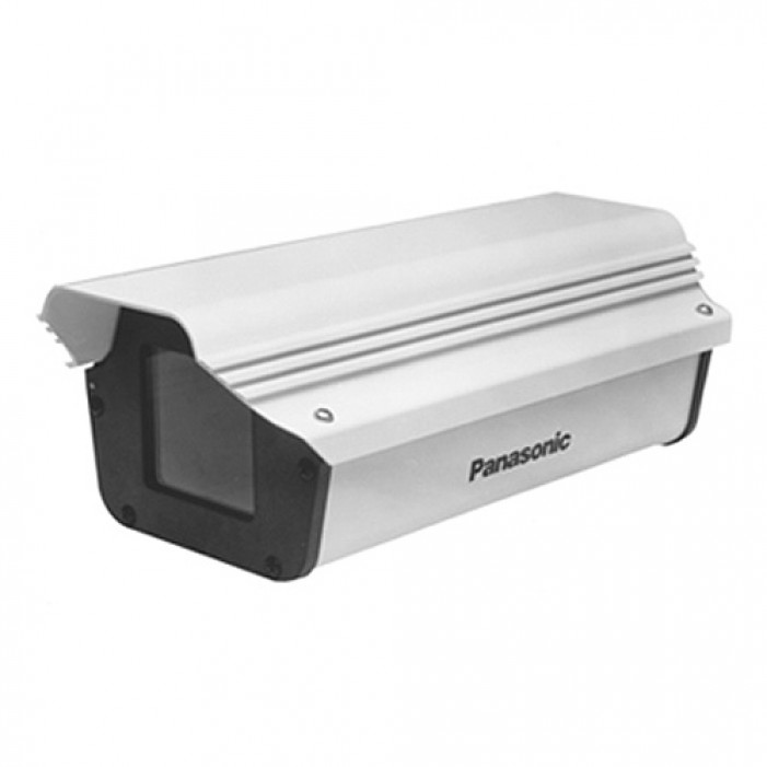 Panasonic POH1000HB 11-inch Outdoor Bullet Style Housing, Includes Wall Mounting Bracket and Heater/Blower