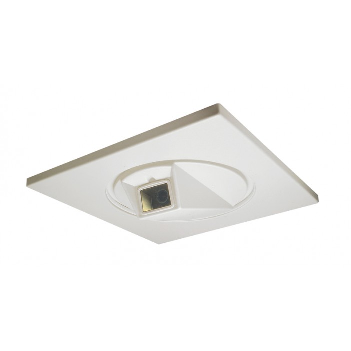 Videolarm RC200C 360 degree Rotating Ceiling Housing, Manually Rotated, Clear Window