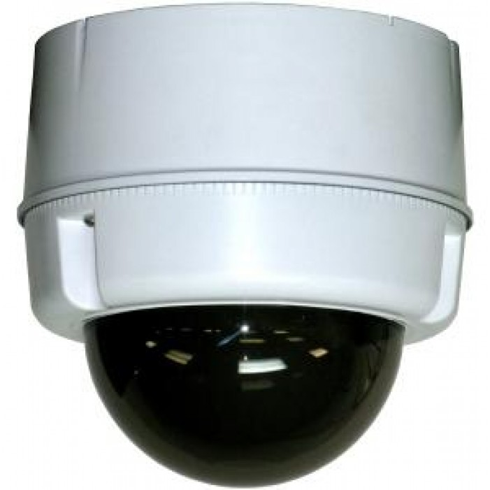 Moog SM5C8NE Compact Outdoor Surface Mount Dome For PoE Plus Enabled IP PTZ Cameras, No Midspan