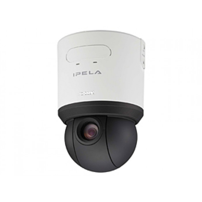 Sony SNC-RS44N Network Rapid Dome Indoor Camera, Triple Stream JPEG/MPEG- 4/H.264 and 18x Optical Zoom