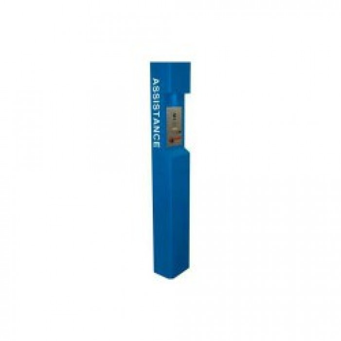 Aiphone TW-ASB Tower Assistance Label, Blue