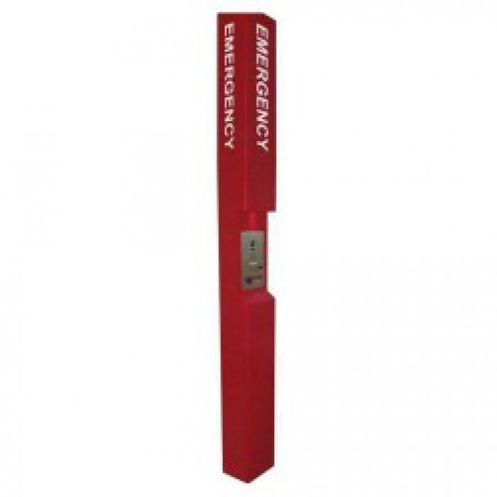 Aiphone TW-EMR Tower EMERGENCY Label, Red
