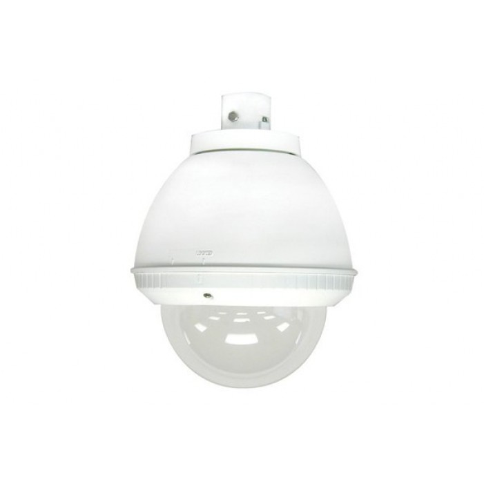 Sony UNI-INS7C1 7-inch Indoor Pendant Housing for SNC-RZ50N and SNC-RZ30N, AC 24V Input, DC 12V Power Included, Clear Dome