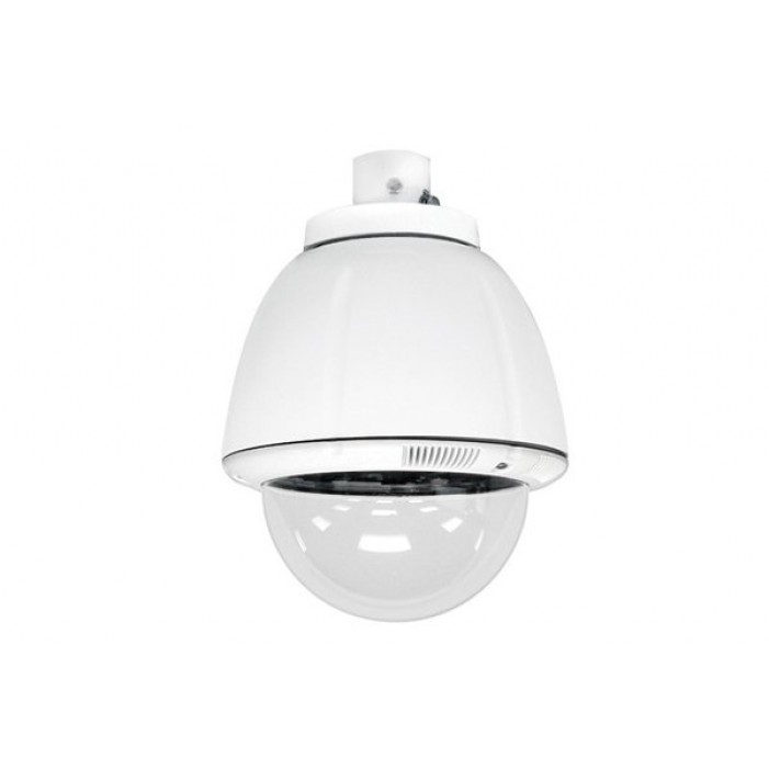 Sony UNI-IRS7C1 7-inch Indoor Vandal Resistant Housing, Pendant Mount for SNC-RZ50N & SNC-RZ30N, AC 24V, DC 12V Power Included, Clear Dome