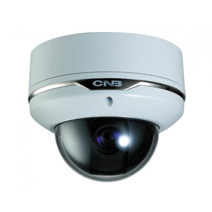 CNB VBT-24Z10F 10x Outdoor True Day/Night Vandal-Resistant Dome Camera