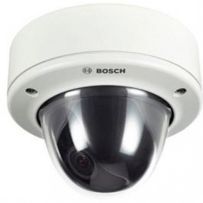 Bosch VDC-485V03-20 540TVL FlexiDome XF Impact-Resistant Outdoor Camera, Flush Mount, 3-9.5mm Lens