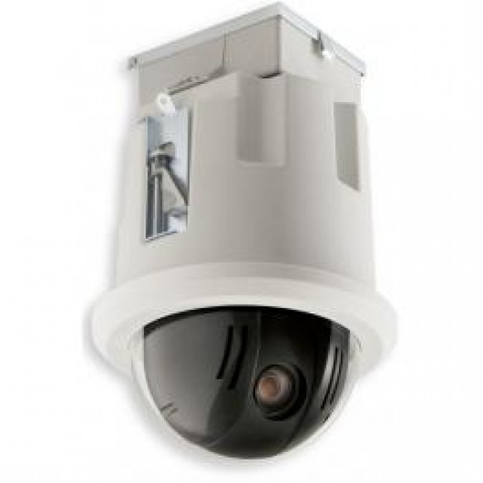 Bosch VG5-164-CT0 AutoDome 100 Series Day/Night NTSC In-Ceiling Camera, 5-50mm Lens