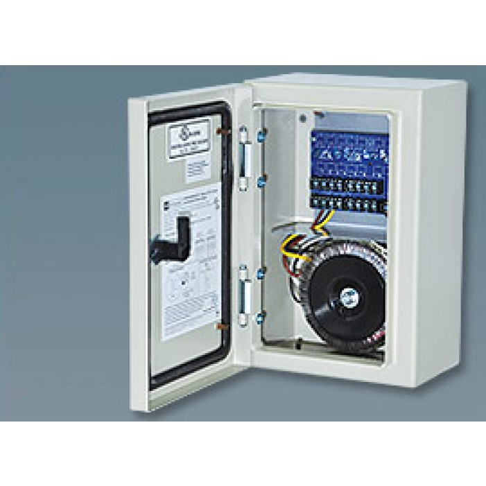 Altronix WPTV248300ULCB 8 Output Outdoor-rated Power Supply, 24/28 VAC @ 12.5/10.0 Amp PTC Protected, NEMA 4/IP 65 Outdoor Cabinet, UL Listed