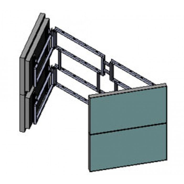 Orion WSD Swing Out Door Video Wall Mount