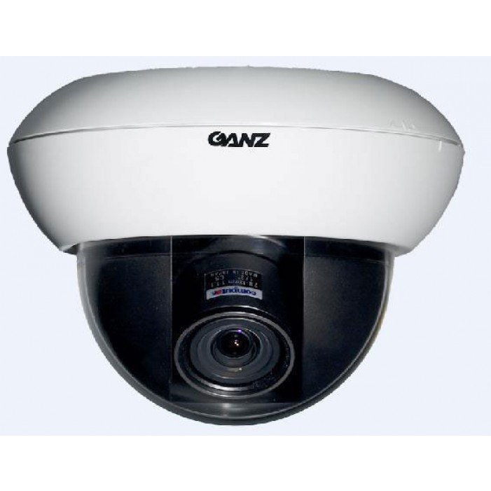 Ganz ZC-DW5550NXA 700TVL Day/Night WDR Dome Camera, 5-50mm Lens, White