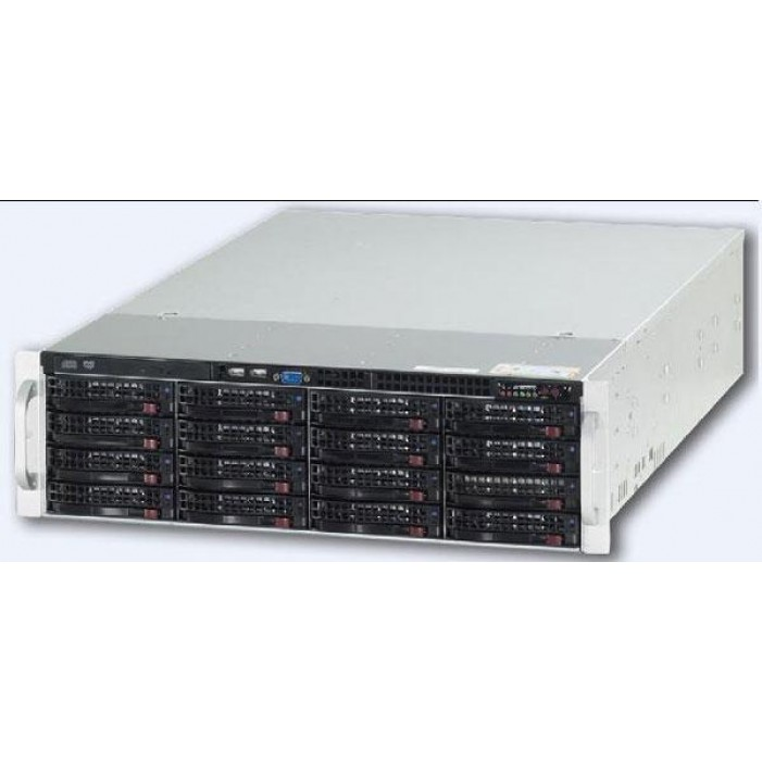 Ganz ZNR-32TB-R 74CH Raid-5 Hot Swap NVR Server w/DVD-RW, 32TB