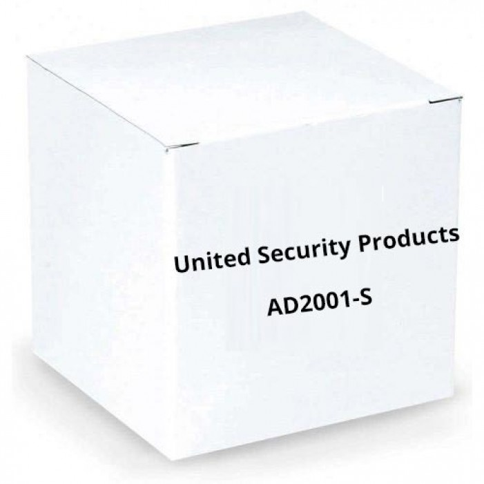 United Security Products AD2001-S Auto Voice Dialer with 2 VMZ's - Calls 4 Numbers - 24VDC - in Metal Cabinet