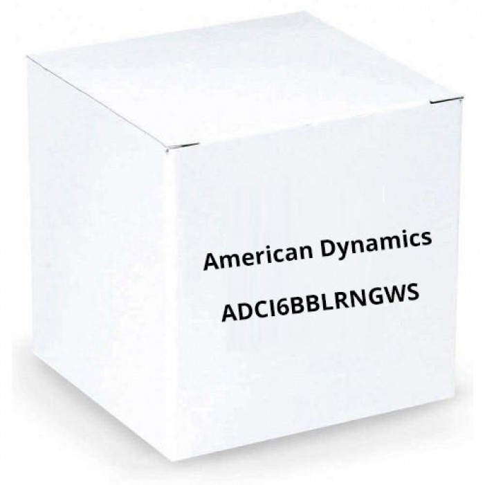 American Dynamics ADCI6BBLRNGWS Outdoor smoked Bubble w/ Trim Ring(W)