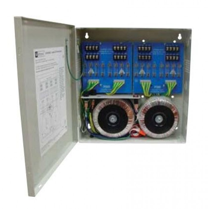 Altronix ALTV2416ULI 16 Output Isolated Power Supply, 24VAC @ 25 Amp, Isolated Fuse Protected, UL Listed