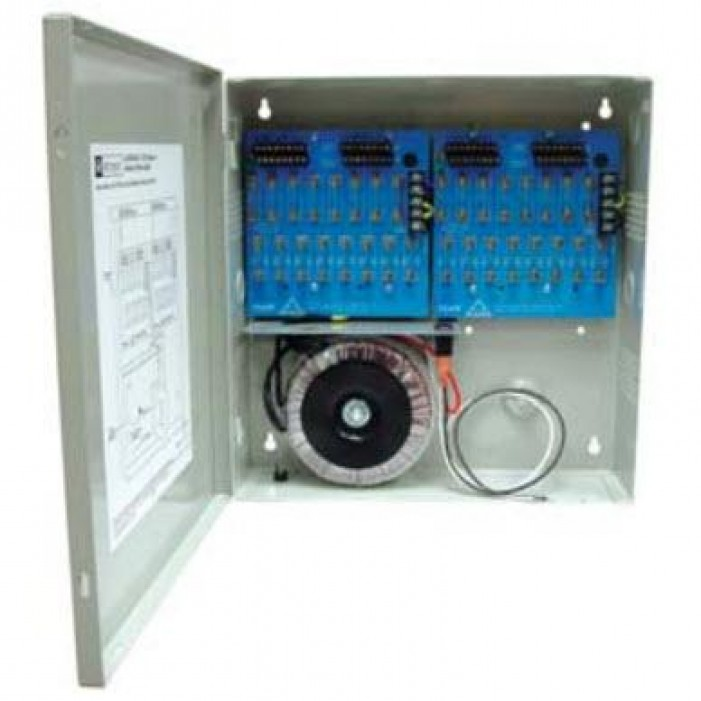 Altronix ALTV2432350 Thirty Two (32) Output Power Supply, 24/28 VAC, 14.0/12.5 Amp, Fused