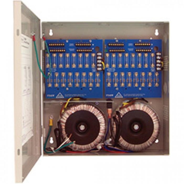 Altronix ALTV2432600CB Thirty-two (32) Output Power Supply, 24/28 VAC, 28/25 Amp, Circuit Breaker