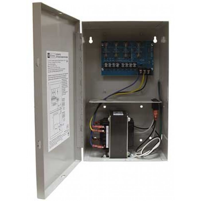 Altronix ALTV244175ULCB 4 Output Power Supply, 24/28VAC, 7.0/6.3 Amp, Circuit Breaker, UL Listed