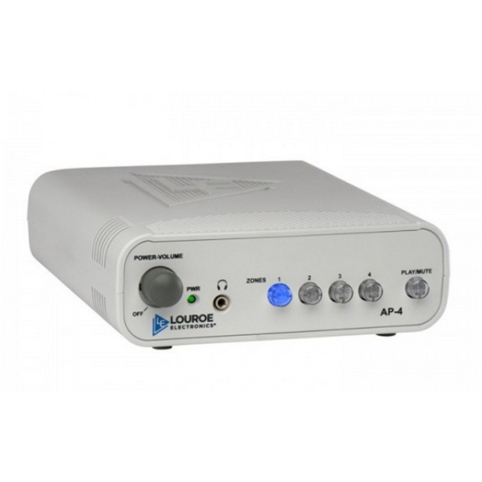Louroe Electronics AP-4 (4)-Zone Audio Monitoring Base Station