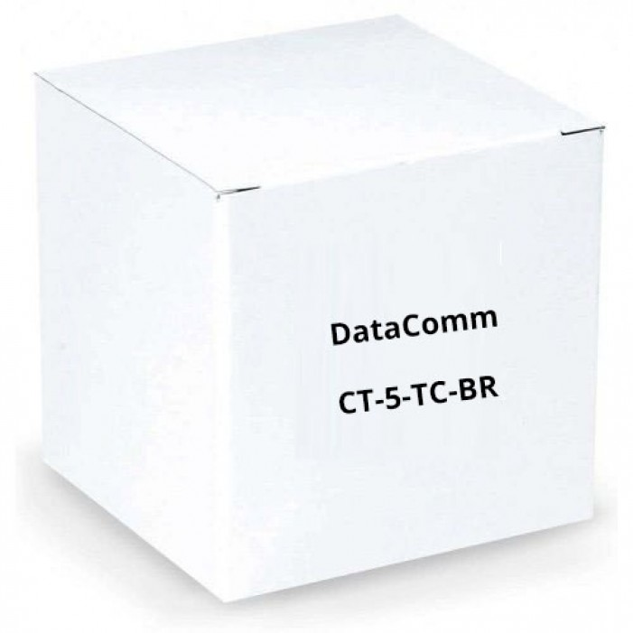 DataComm CT-5-TC-BR 5 PACK, Exit Point Covers for Cable Trench