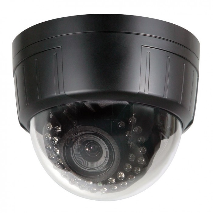 Speco CVC5825DNV 600 TVL Color Day/Night Indoor Dome Camera, 2.8 -12mm Lens, Black Housing