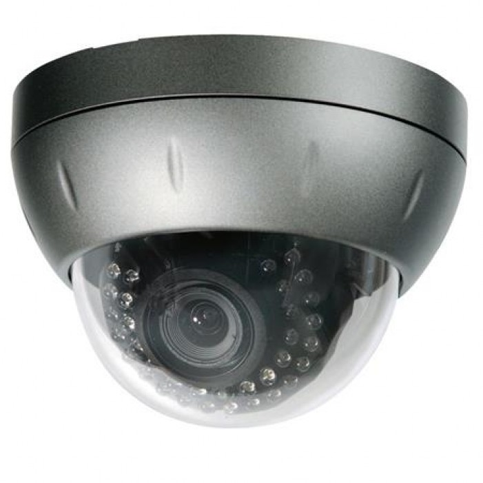 Speco CVC5935DNVW Intense-IR Series Tamper-Weather Resistant Color Day-Night Dome Camera, 9-22mm Lens