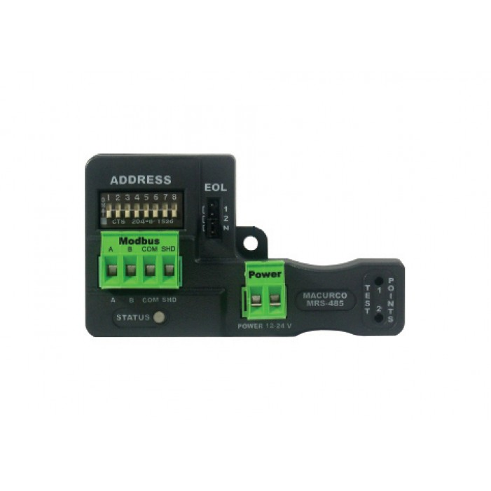 Macurco CX-6-MRS-485 CO/NO2 Low Voltage Fixed Gas Detector & Modbus Adapter