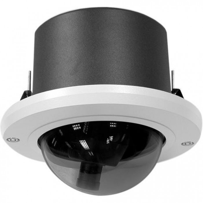 Pelco DF5S-0 Fixed Mount Indoor Housing with Smoked Dome, Shortened Back Box