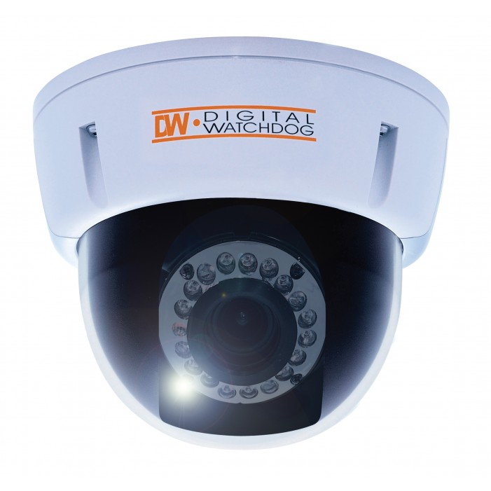 "Digital Watchdog DWC-D2363TIR Digital Indoor Dome 1/3"" Sony Super II HAD CCD, 620 TVL"