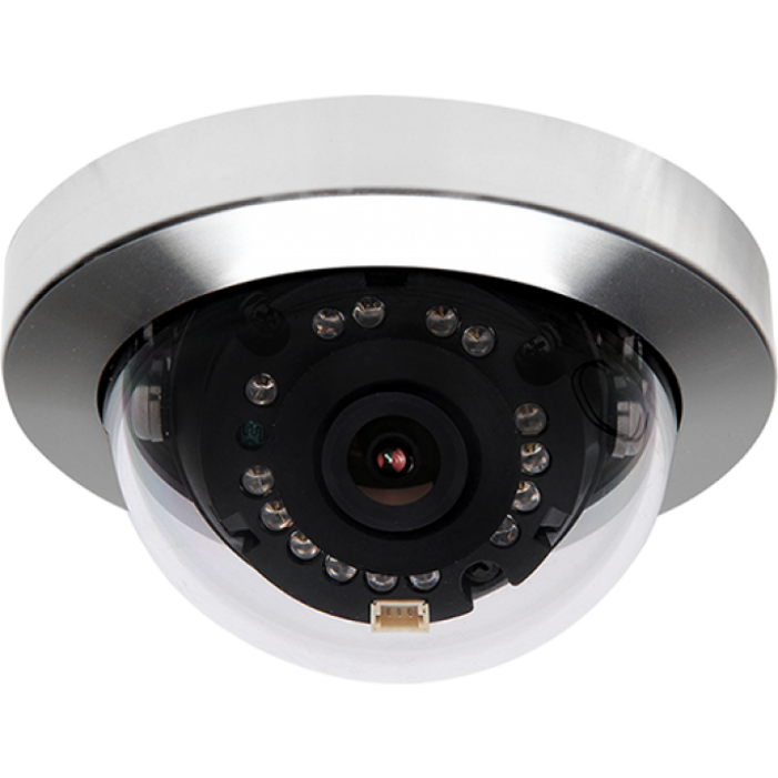 Digital Watchdog DWC-MC352DIR Outdoor IR Day/Night Vandalproof Micro Dome Camera, 3.6mm Lens