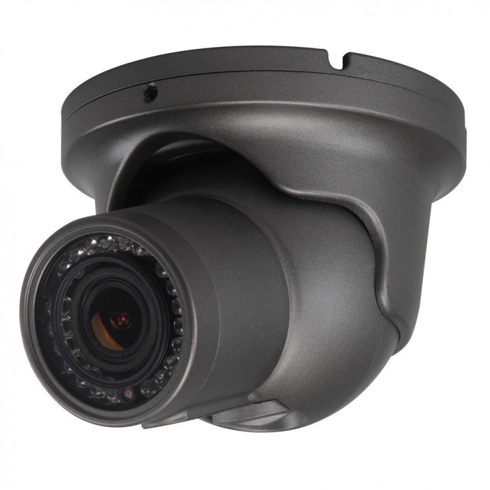 Speco HT6040K 1000 TVL Indoor/Outdoor IR Vandal Turret Camera, 2.8-12mm Lens