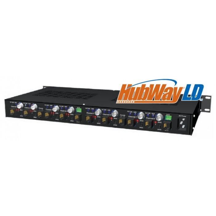 Altronix HubWayLD82DS 8 Channel Active UTP Hub/Balun Kit, 115/230VAC