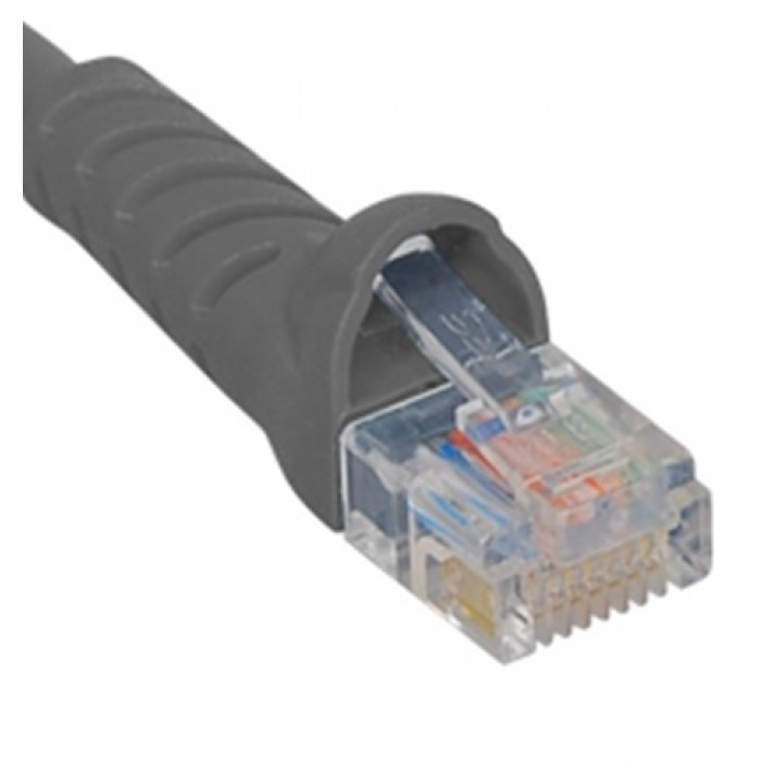ICC ICPCSK03GY Cat 6 Patch Cord, Gray, 3 Ft.