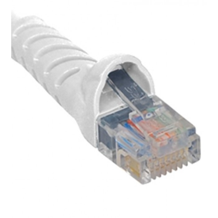 ICC ICPCSK03WH Cat 6 Patch Cord, White, 3 Ft.