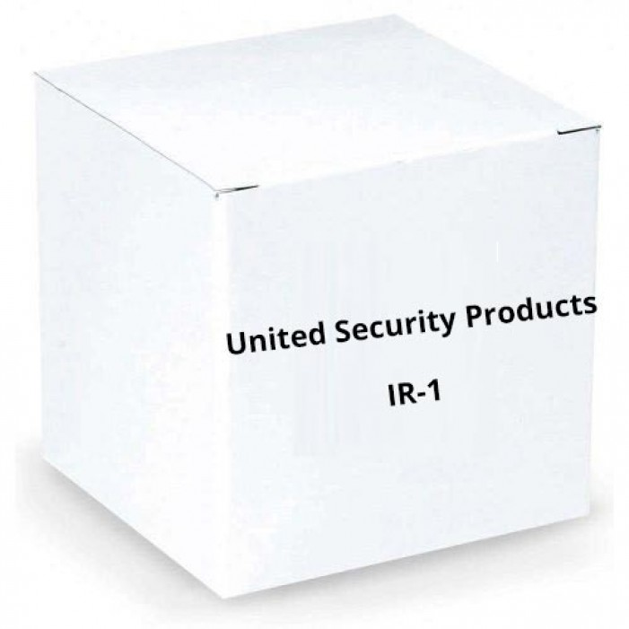 United Security Products IR-1 Isolation Relay for DSC Neg, Grounded Panels & Other Alarm Panels, SPST, 12VDC