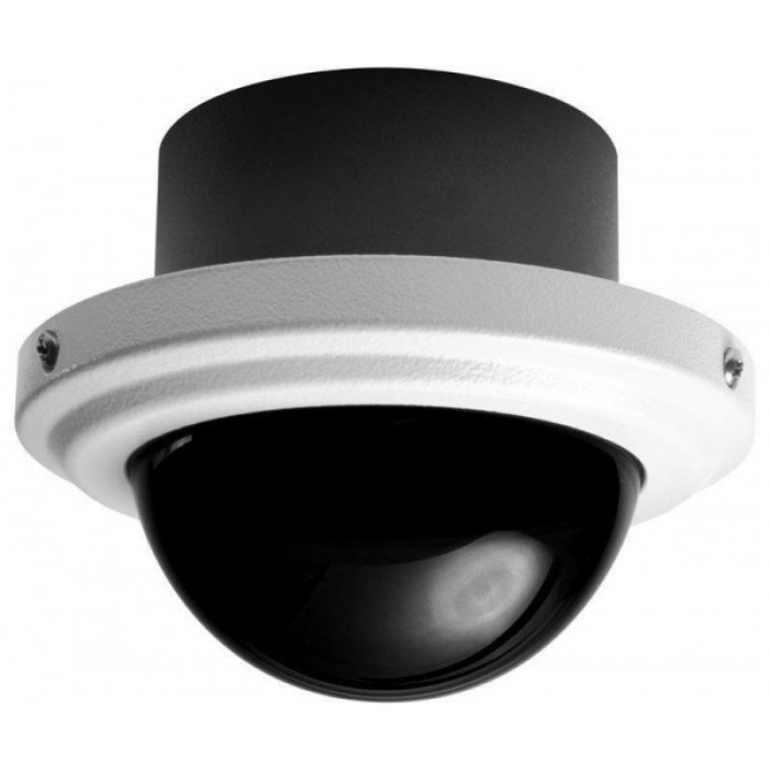 Pelco IS51-CHV10F Camclosure 2 Environment Flush Color High Resolution Clear Dome, 2.8-10 Lens