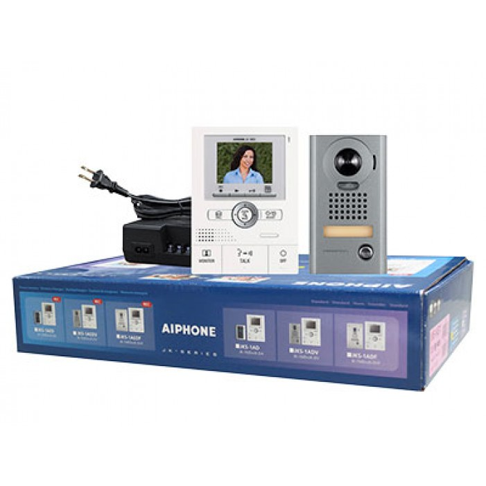 Aiphone JKS-1AEDV Video Entry Vandal Set with Memory and PanTilt Zoom