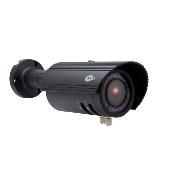 BLACK 24 IR LED 2.8-12mm Dual Power KT/&C OMNI EZ HD-TVI Camera 2 MP 1080p Dome