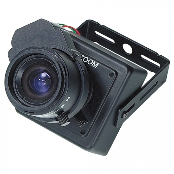 KT&C KPC-HD38CZV1 520TVL High Quality Mini 3X Digital Zoom Color Camera