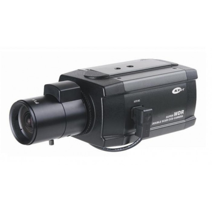 KT&C KPC-WDR4200NH 550 TVL WDR Innovative Professional Box Camera, C/CS Mount