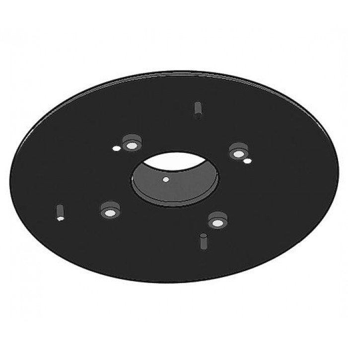 Pelco PASMB Pendant Adapter for Spectra IV Surface Mount Dome, Black
