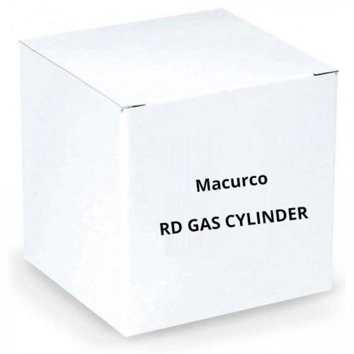 Macurco RD Gas Cylinder Refrigerant Test Gas Canister
