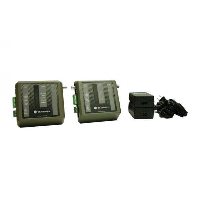 Interlogix S739DV-PKG MM - Video and 2-Way Up-The-Coax Data, Tx/Rx, 2 Power Supplies, Kit