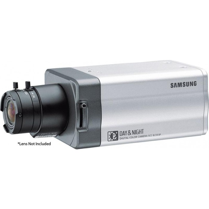 Samsung Security SCC-B2305 D/N WDR Box Camera, C/CS Mount