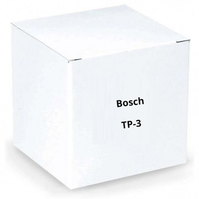 Bosch TP-3 3 Pin XLR Plug for Audiocom Base Station
