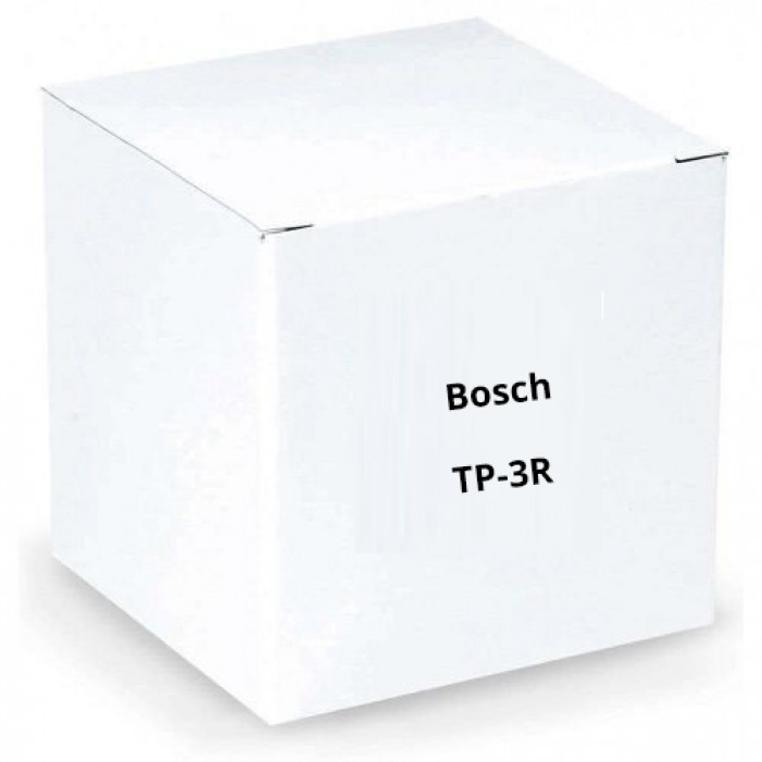 Bosch TP-3R 3 Pin XLR Plug for Base Stations