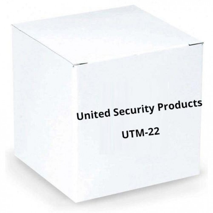 """United Security Products UTM-22 Additional """"Y"""" Connector"""
