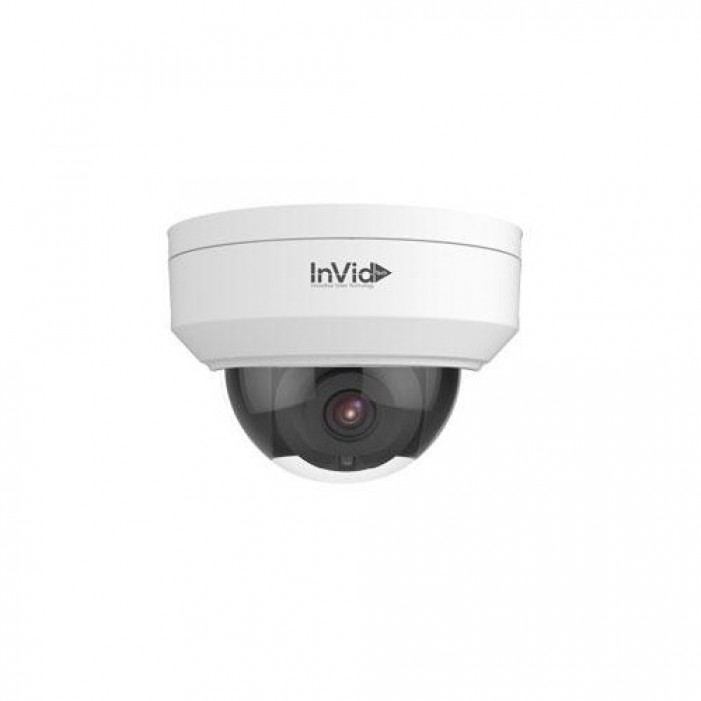 InVid VIS-P4DRXIR28LC 4 Megapixel Network IR Dome Camera, 2.8mm Lens, SD Card Slot